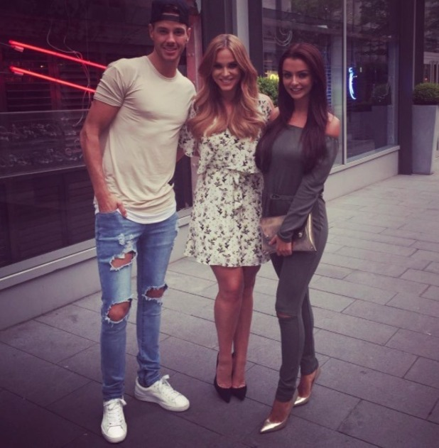 Kady McDermott meets Scott Thomas' friend Vicky Pattison - 2 August 2016