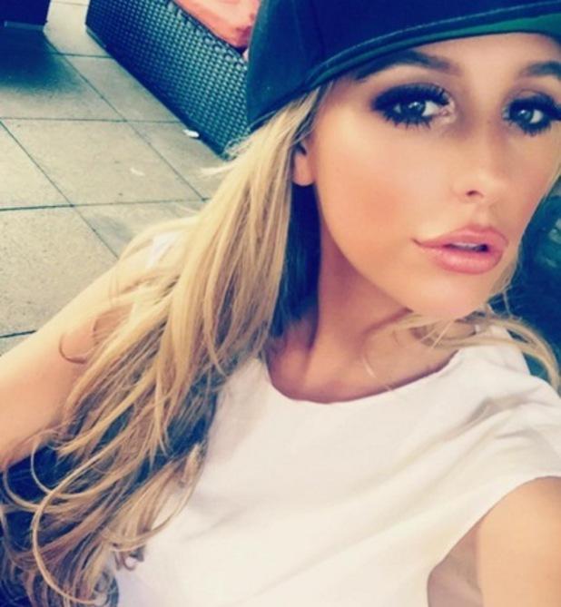 Amber Dowding selfie, Instagram 3 August