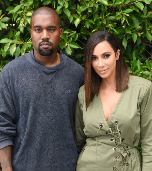 Kim Kardashian, Kanye West at the Knc Beauty Launch in Los Angeles, 1st August 2016
