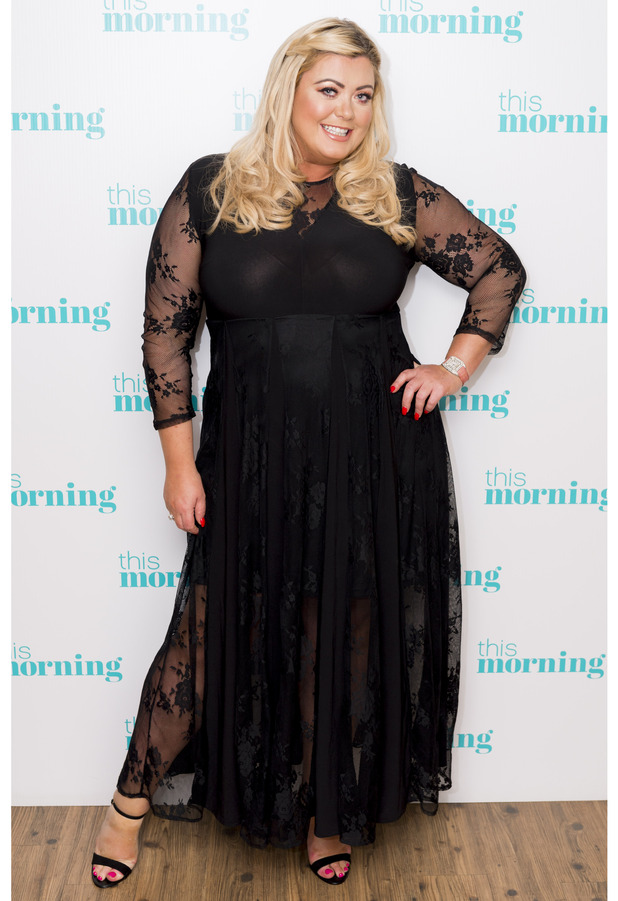 TOWIE's Gemma Collins appears on This Morning, ITV Studios, London, 2nd August 2016