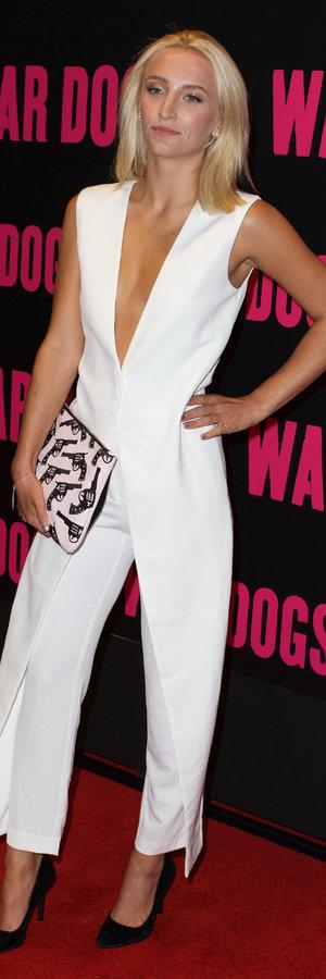 Tiff Watson at War Dogs premiere