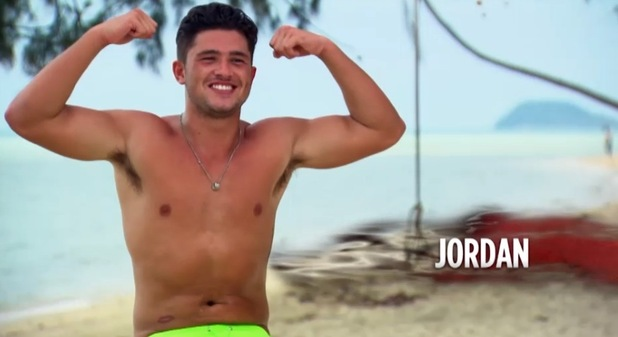 Jordan Davies arrival on Ex On The Beach, Series Five 10 August