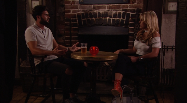 TOWIE: Dan Edgar and Kate Wright 10 August 2016
