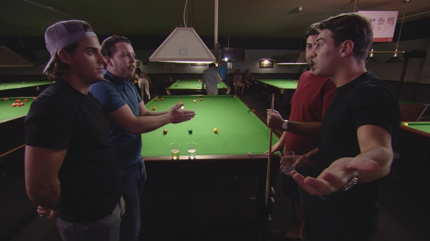TOWIE: Jon and Diags clash 10 August 2016
