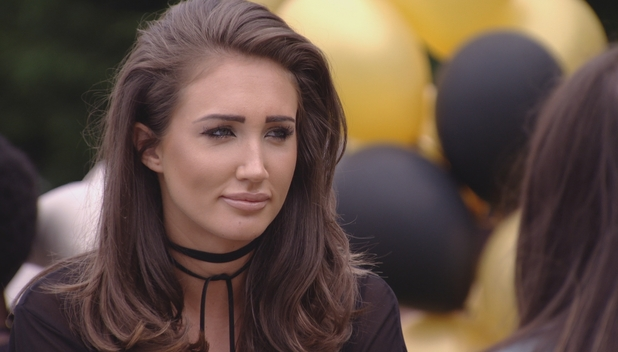 TOWIE's Megan McKenna is upfront with Chloe Meadows and Courtney Green, 14/8/16