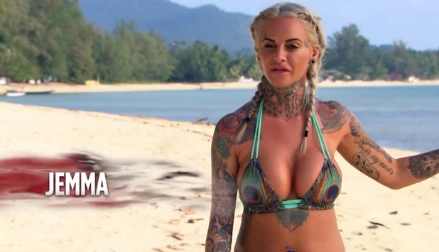 Ex On The Beach 5: Jemma Lucy's arrival 9 August