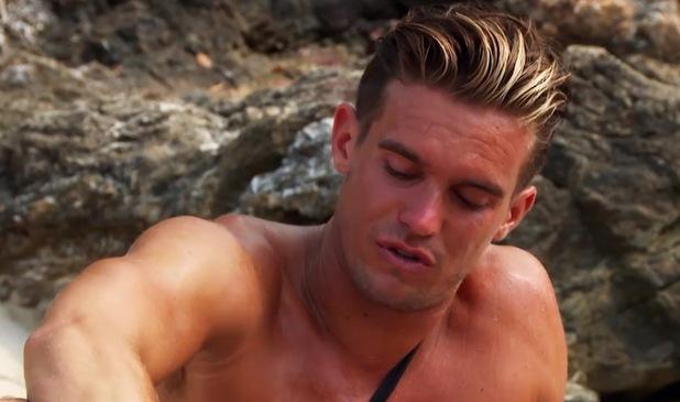 Gaz Beadle cries on Ex On The Beach 5, MTV 9 August