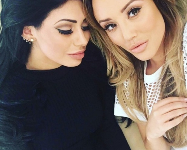 Chloe Ferry and Charlotte Crosby, Instagram 10 August