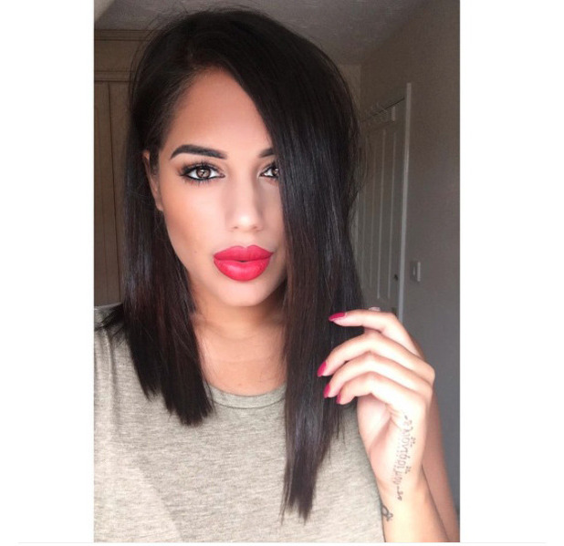 Love Island's Malin Andersson cuts her hair short, Instagram, 9th August 2016