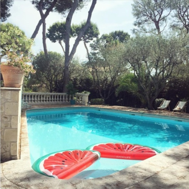 Millie Mackintosh shows off her French holiday villa