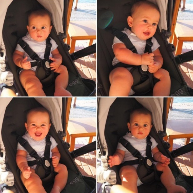 Sam Faiers shares holiday collage of son Paul 9 August