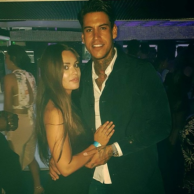 Love Island's Terry Walsh and Emma-Jane Woodham in Brighton, 13/8/16