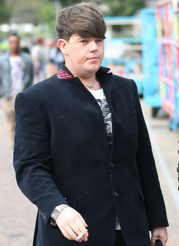 'X Factor' finalist Craig Colton outside the ITV studios London, England - 04.10.11