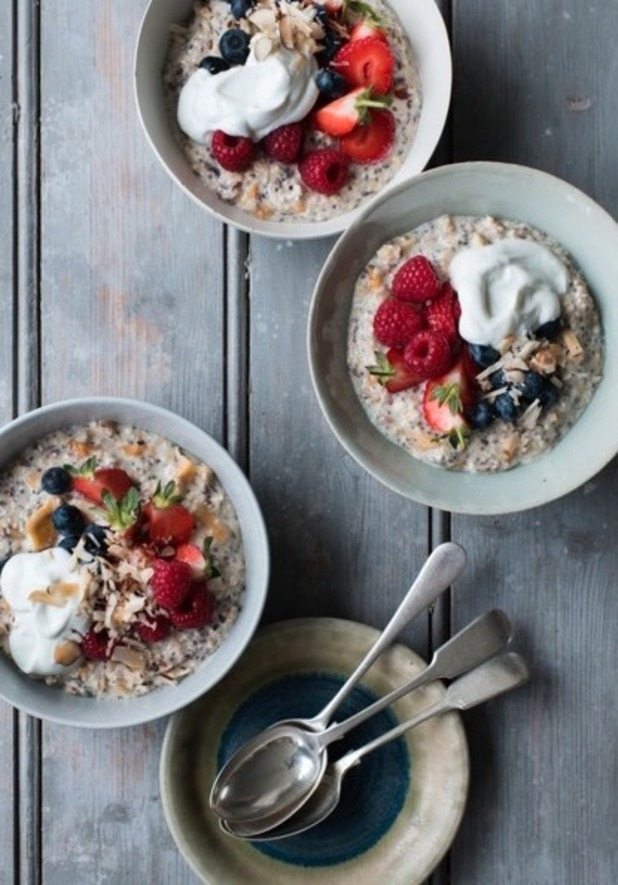 GIZZI ERSKINE BIRCHER BREAKFAST RECIPE