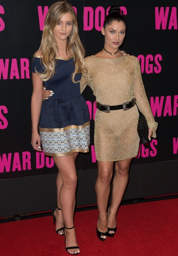 Cally Jane and Tina at War Dogs premiere