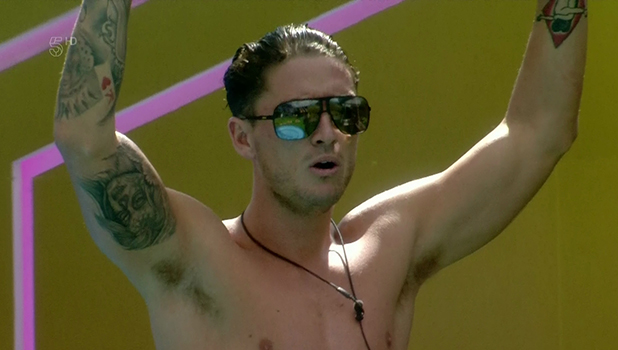 Bear on 'Celebrity Big Brother'. Broadcast on Channel 5HD