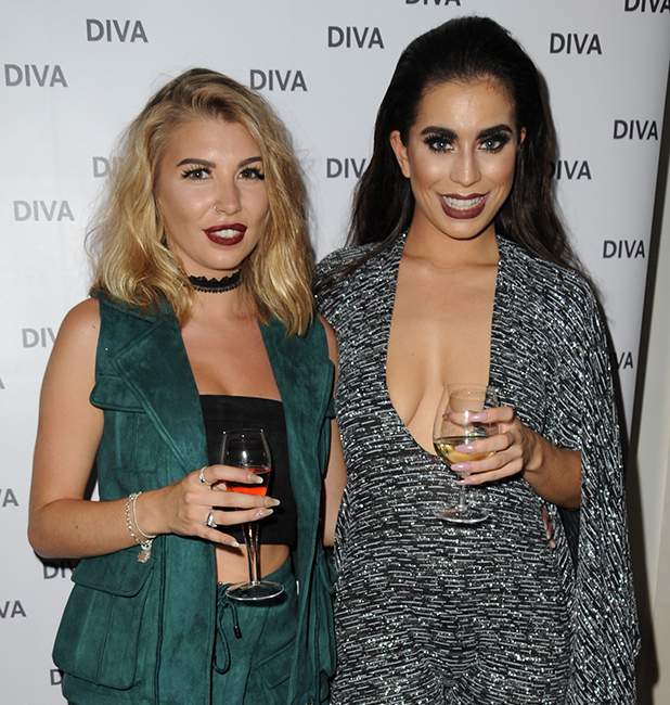 Diva Magazine hosts launch party at the Ivy Club Katie Salmon and Olivia Buckland 11 August 2016