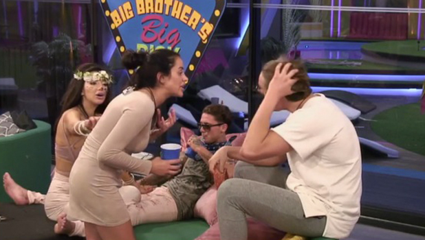 CBB: Marnie and Lewis row over his decision to choose a group reward rather than a personal one 11 August 2016