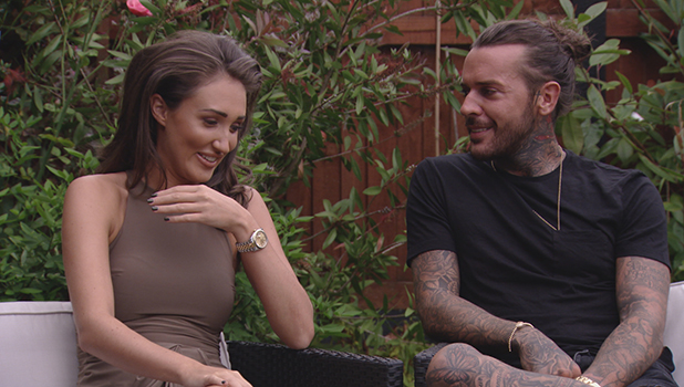 TOWIE: Megan McKenna and Pete Wicks hang out with her parents 10 August 2016