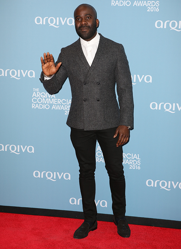 Guests attend Arqiva Commercial Radio Awards 2016 Melvin Odoom