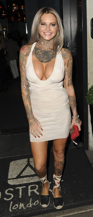 Ex On The Beach star Jemma Lucy attends the Prodigal Fox clothing launch party in London, 18th August 2016