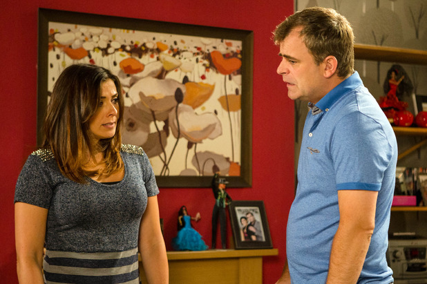 Corrie, Michelle and Steve crossed wires, Fri 19 Aug
