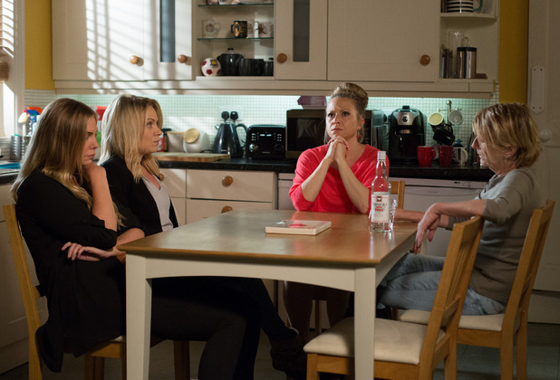 EastEnders, Linda, Roxy, Ronnie, Shirley wait for the verdict, Fri 19 Aug