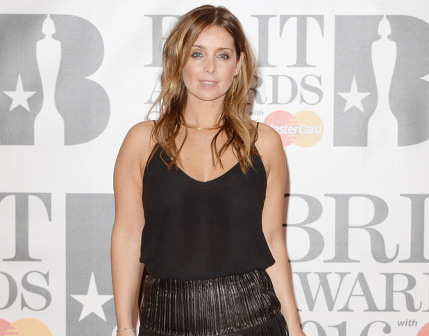 Louise Redknapp at the Brit Awards 2016 February 2016