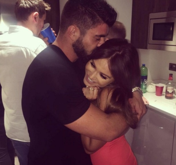 Rogan O'Connor with Vicky Pattison, Instagram 14 August