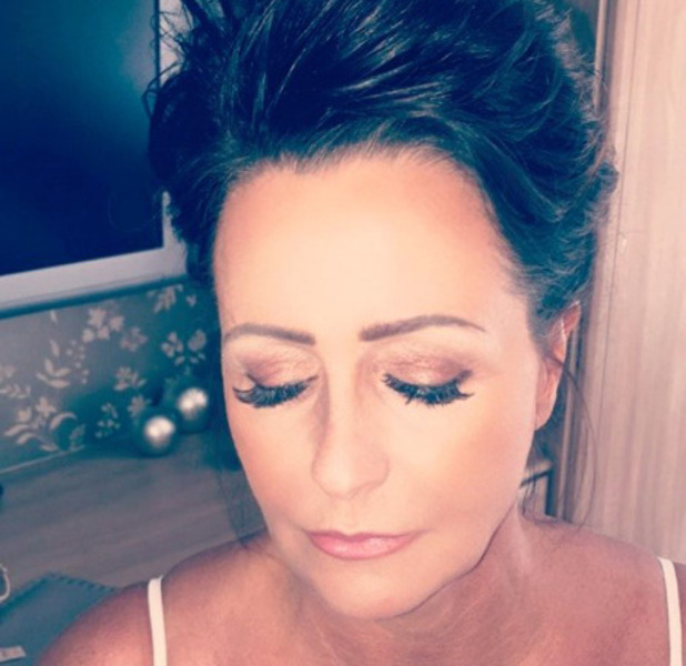 TOWIE star Chloe Lewis does her mum's make-up and shares the results on Instagram, 18th August 2016