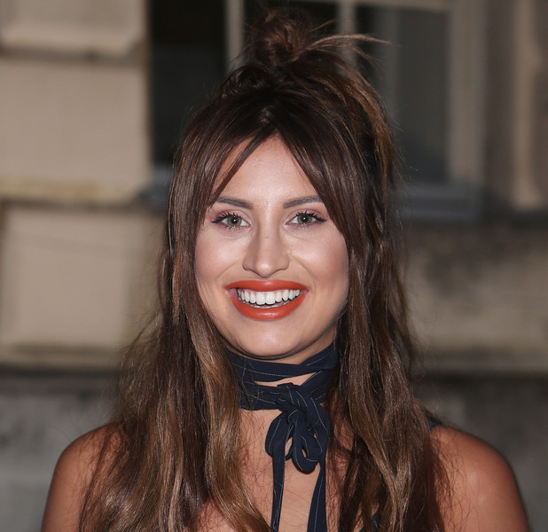Former The Only Way Is Essex star Ferne McCann shows off her new nose at the Captain Fantastic premiere, London, 17th August 2016