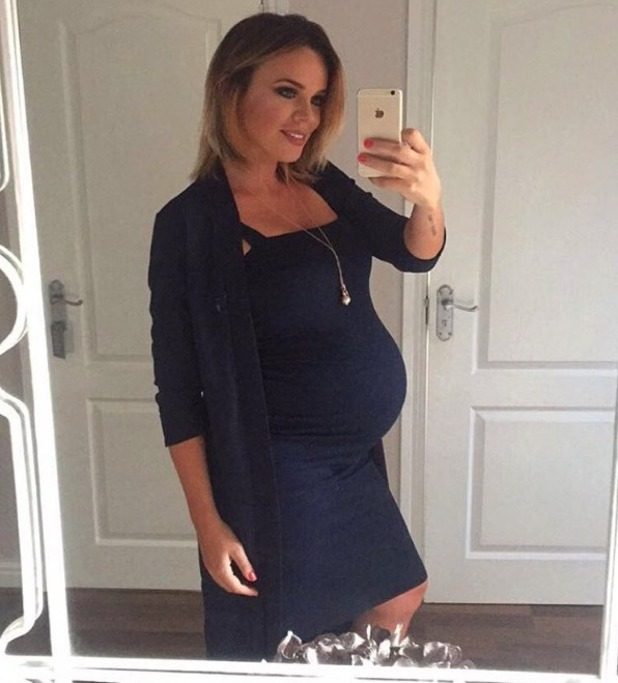 Maria Fowler shares baby bump picture on her 30th birthday - 15 August 2016