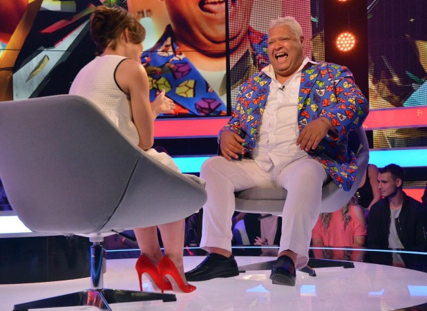CBB: Emma Willis interviews Heavy D after his eviction 16 August 2016