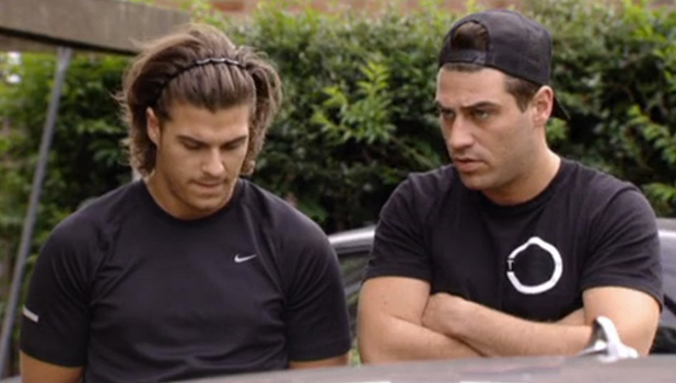 TOWIE: Jon and Chris 12 August 2016