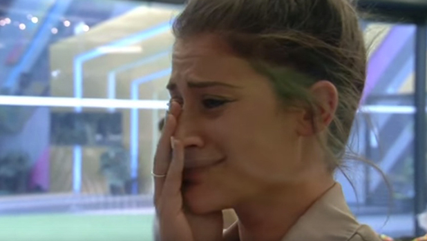 CBB: Katie gets a surprise video message from husband Brian 19 August 2016