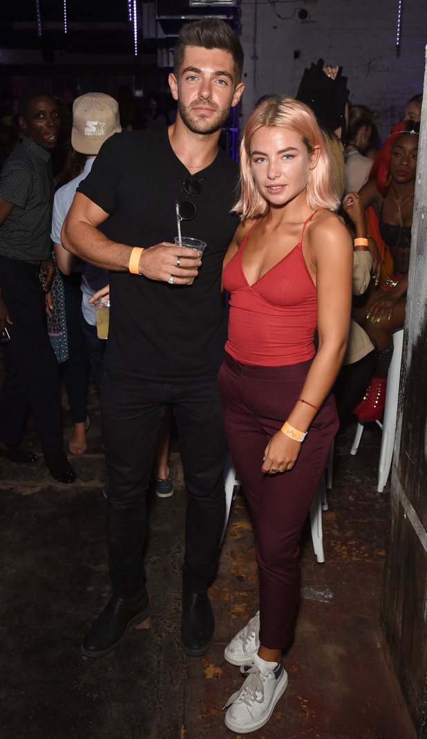 Alex Mytton and Jess Woodley, Notion Magazine Presents 'Summer Vibes' Summer Party at Mangle @ The Laundry, August 25, 2016,London, England.