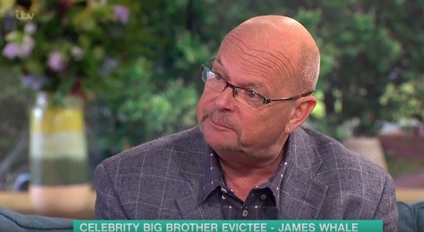 James Whale appears on This Morning, ITV 22 August