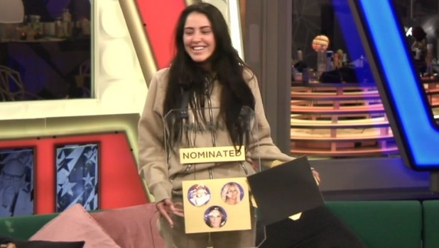 CBB: Marnie Simpson is nominated by Renee, Aubrey and Frankie 23 August