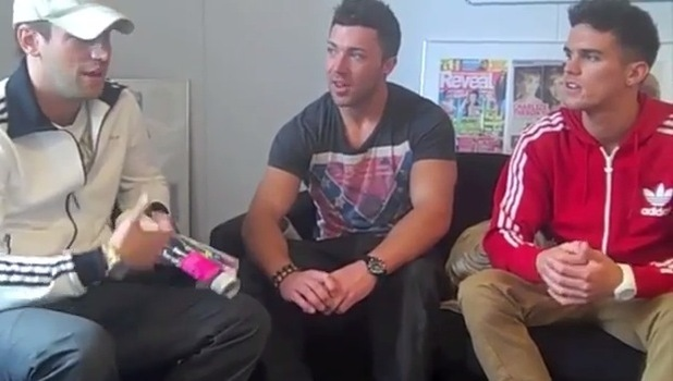 Greg Lake, James Tindale and Gaz Beadle in throwback video, Geordie Shore 23 August
