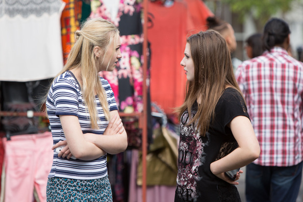 EastEnders, Louise winds Bex up, Fri 26 Aug