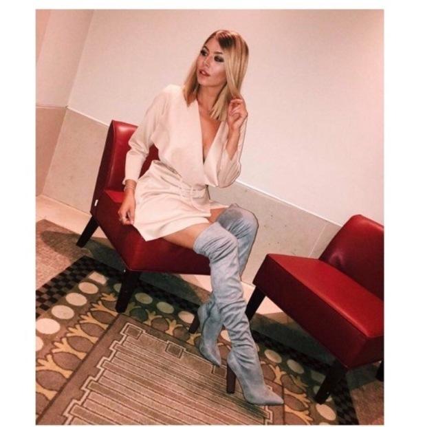Love Island star Olivia Buckland wears In The Style, Instagram, 22 Auust 2016