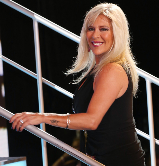 Samantha Fox is evicted from CBB - 23 August 2016