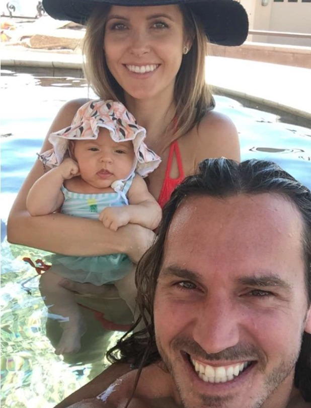 Audrina Patridge shares the first pics of baby Kirra - 25 August 2016