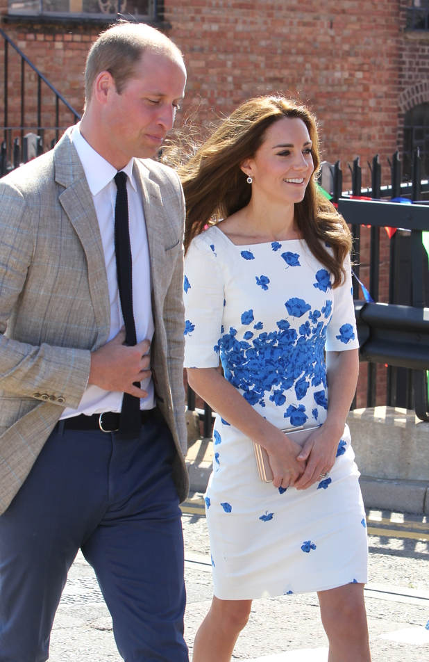 Kate Middleton in Luton, 24 August 2016