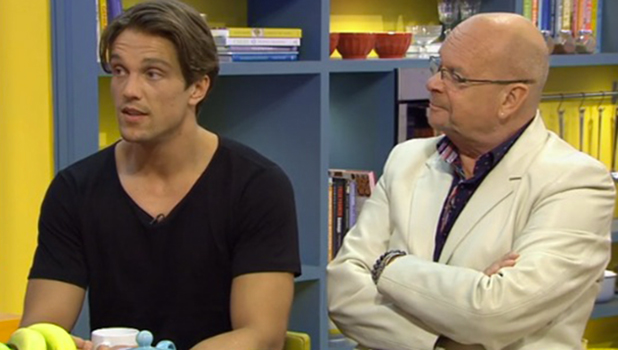 CBB: Lewis Bloor and James Whale on The Saturday Show 20 August 2016