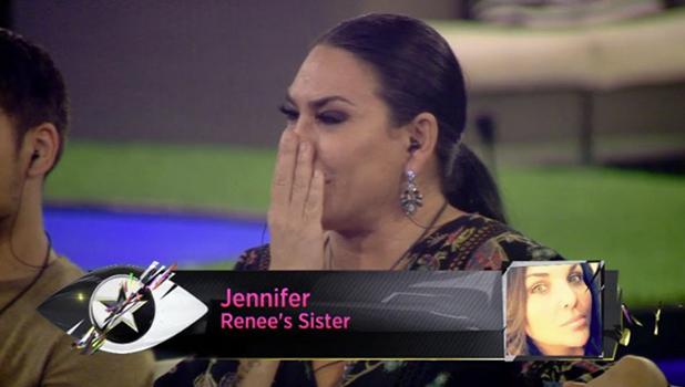 CBB: Renee gets call from sister Jennifer