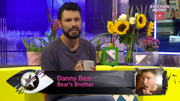 CBB: Bear's brother Danny phones into CBB BOTS 23 August 2016