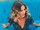 Exact match! Caroline Flack is insanely stylish in floral tea dress