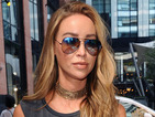 Get the look! Former TOWIE star Lauren Pope serves rock chick vibes in Manchester