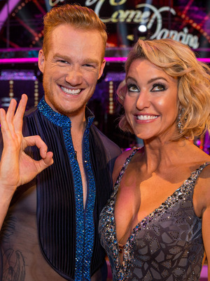 Strictly Come Dancing 2016: Greg Rutherford and Natalie Lowe Launch show 2016